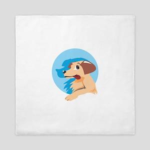 Dog Shadow Animal Queen Duvet