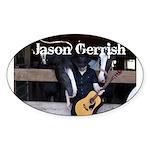 Jason Gerrish Sticker (Oval)