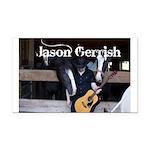 Jason Gerrish Rectangle Car Magnet
