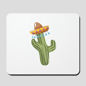 Catus Plant Sombrero Mousepad
