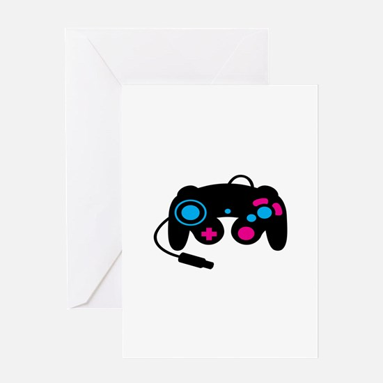 Game Controller Greeting Cards