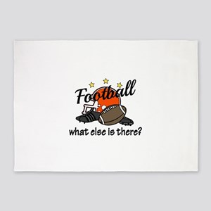 Football What Else 5'x7'Area Rug
