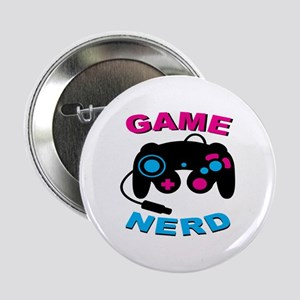 "Game Nerd 2.25"" Button"