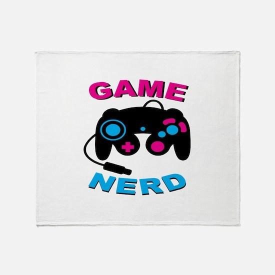 Game Nerd Throw Blanket