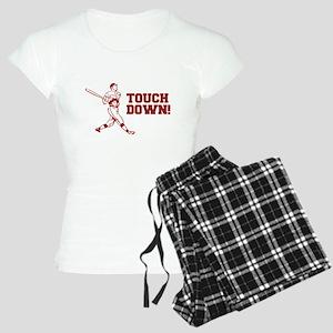 Touchdown Homerun Baseball Football Sports Pajamas
