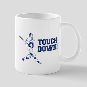 Touchdown Homerun Baseball Football Sports Mugs