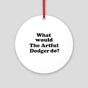 Artful Dodger Ornament (Round)