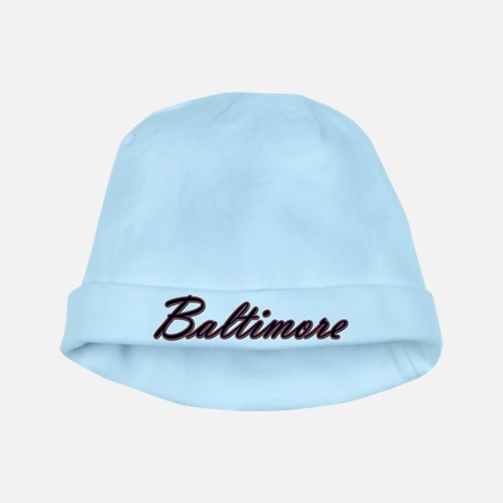 Baltimore Sports Baby Hat
