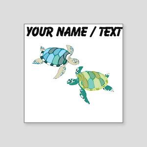 Custom Sea Turtles Sticker