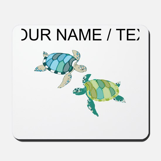 Custom Sea Turtles Mousepad