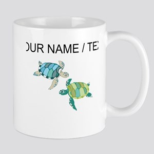 Custom Sea Turtles Mugs