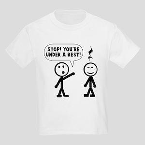 eface2ec1 Music Teacher Kids T-Shirts - CafePress