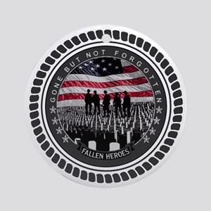 Fallen Heroes Ornament (Round)