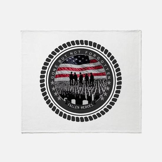 Fallen Heroes Throw Blanket