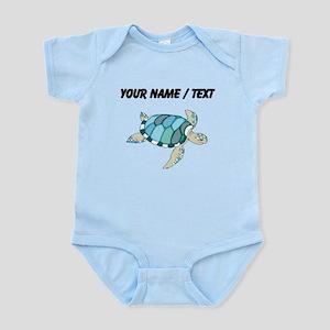 Custom Blue Sea Turtle Body Suit