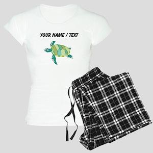 Custom Green Sea Turtle Pajamas