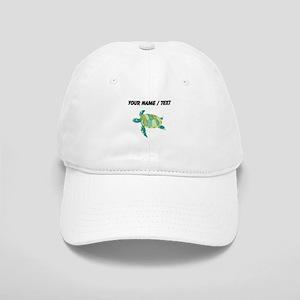 Custom Green Sea Turtle Baseball Cap