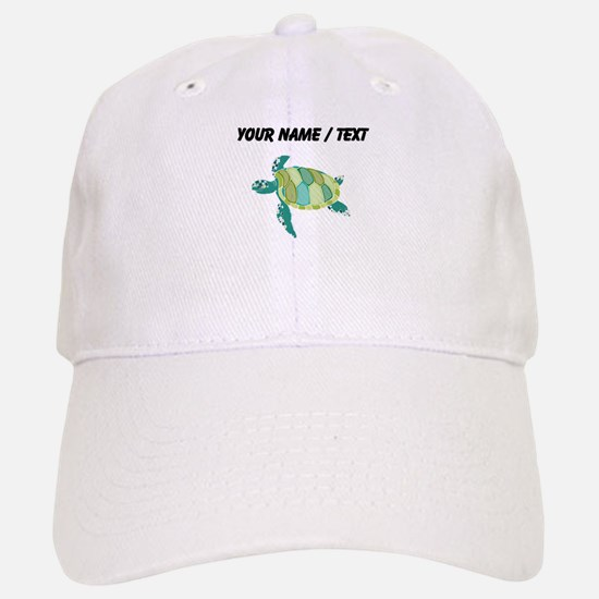 Custom Green Sea Turtle Baseball Baseball Baseball Cap