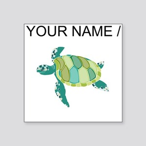 Custom Green Sea Turtle Sticker
