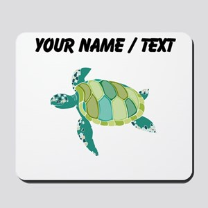 Custom Green Sea Turtle Mousepad