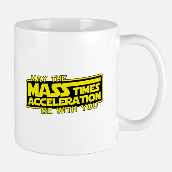 May the Force (Mass x Acceleration) Be With You Mu