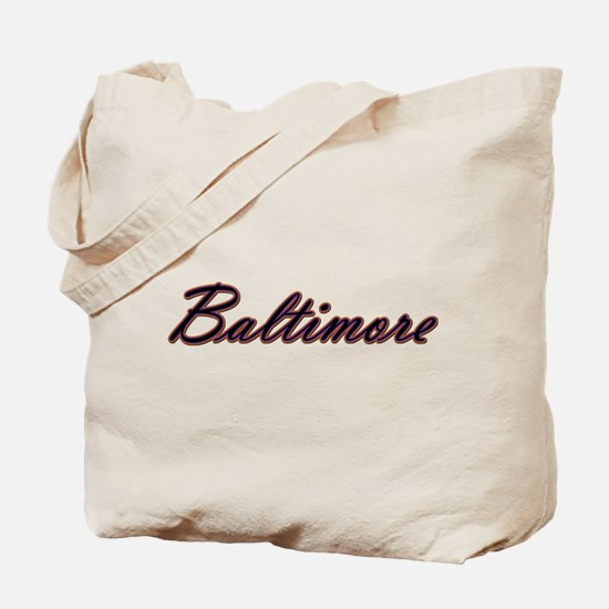 Baltimore Sports Tote Bag