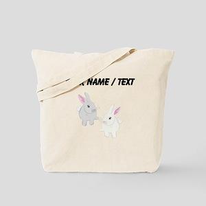 Custom Rabbits Tote Bag