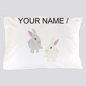 Custom Rabbits Pillow Case