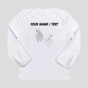 Custom Rabbits Long Sleeve T-Shirt