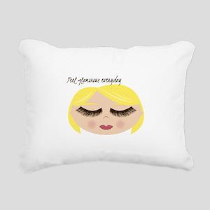 Feel Glamorous Everyday Rectangular Canvas Pillow