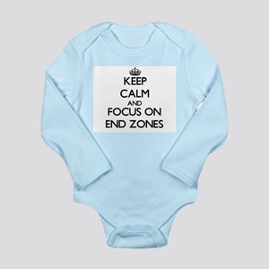 Keep Calm and focus on END ZONES Body Suit