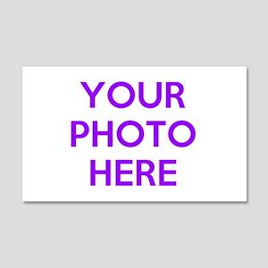 Customize photos Wall Decal
