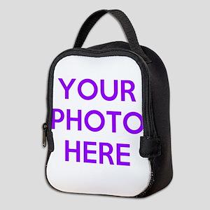 Customize photos Neoprene Lunch Bag