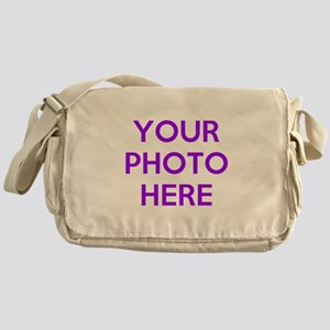 Customize photos Messenger Bag