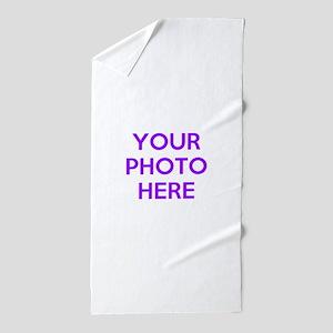 Customize photos Beach Towel