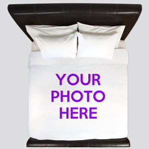 Customize photos King Duvet