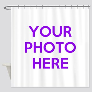 Customize Photos Shower Curtain