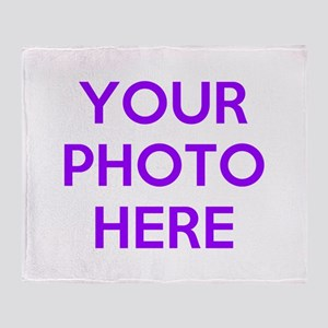 Customize photos Throw Blanket