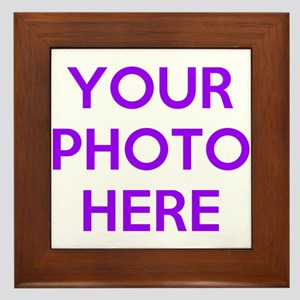 Customize photos Framed Tile