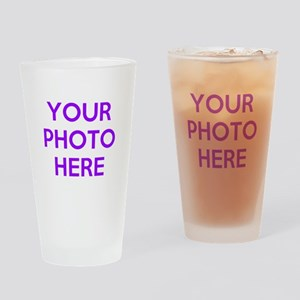 Customize photos Drinking Glass