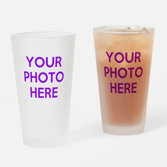 Customize photos Drinking Glass