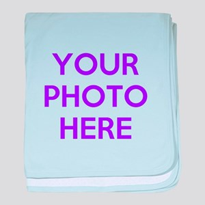 Customize photos baby blanket