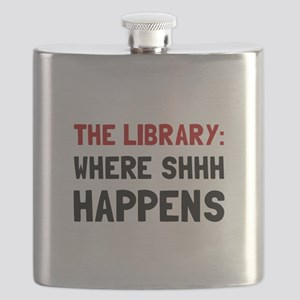 Library Shhh Happens Flask