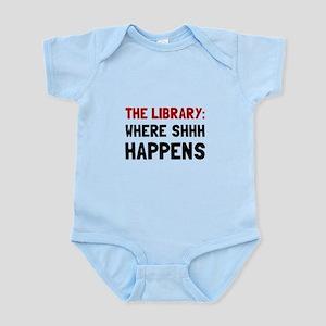 Library Shhh Happens Body Suit