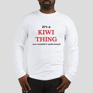 It's a Kiwi thing, you wou Long Sleeve T-Shirt