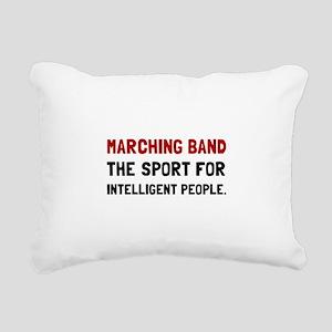 Marching Band Intelligent Rectangular Canvas Pillo