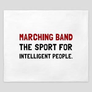 Marching Band Intelligent King Duvet
