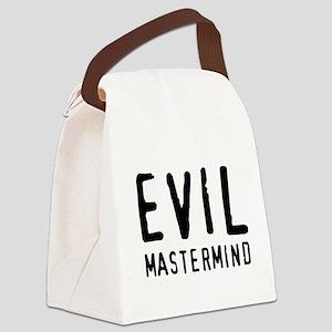 Evil Mastermind Canvas Lunch Bag