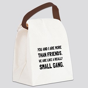 More Than Friends Canvas Lunch Bag