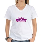 Best Senator Money Can Buy Women's V-Neck T-Shirt